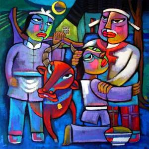 The prodigal son by He QiThis image is taken from the internet. If it is in breach of any copyright requirements, please notify me for its immediate withdrawal